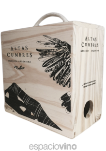 Altas Cumbres Malbec Bag in Box 3000 ml