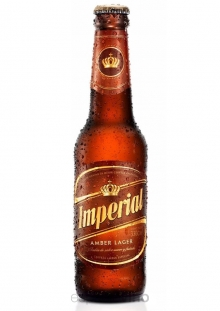 Imperial Amber Lager Cerveza 330 ml