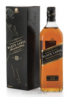 Johnnie Walker Black Label Whisky 1 Litro