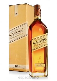Johnnie Walker Gold Label 18 Años Whisky 750 ml