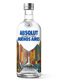 Absolut Buenos Aires Vodka 750 ml