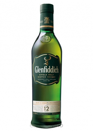 Glenfiddich 12 Años Whisky 750 ml