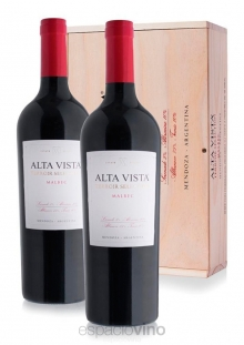 Cofre Alta Vista Terroir Selection Malbec x2