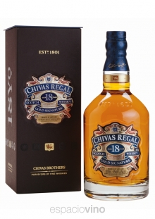Chivas Regal 18 Años Whisky 750 ml