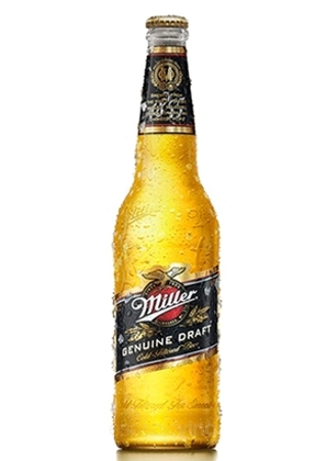 Miller Genuine Draft Cerveza 600 ml