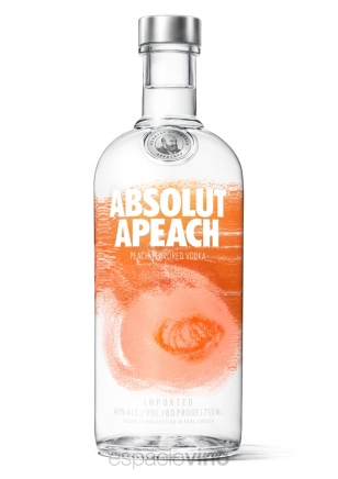 Absolut Apeach Vodka 750 ml