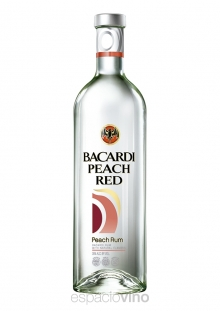 Bacardi Peach Red Ron 750 ml