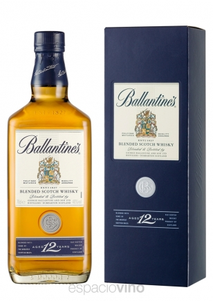 Ballantines 12 Años Whisky 750 ml