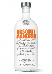 Absolut Mandarin Vodka 750 ml