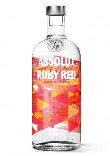 Absolut Ruby Red Vodka 750 ml