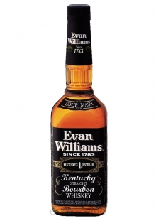 Evan Williams Black Label Whisky 750 ml
