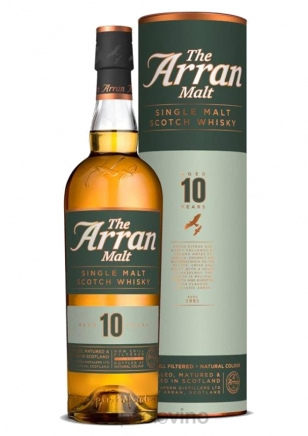 The Arran 10 Años Whisky 750 ml