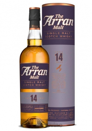 The Arran 14 Años Whisky 750 ml