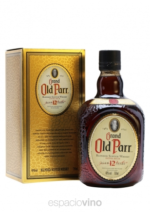 Old Parr De Luxe Whisky 750 ml