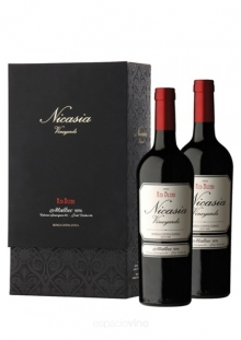 Estuche Nicasia Vineyards Red Blend Malbec x2