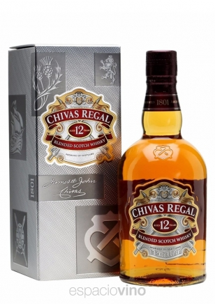 Chivas Regal 12 Años Whisky 1 Litro