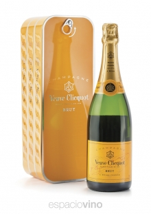 Lata Veuve Clicquot Brut Yellow Label Champagne