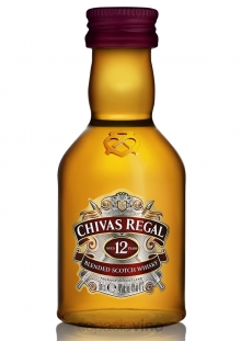 Chivas Regal 12 Años Whisky Miniatura 50 ml