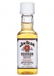 Jim Beam White Whisky Miniatura 50 ml