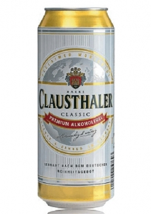 Clausthaler Lata Cerveza sin alcohol 500 ml