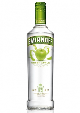 Smirnoff Green Apple Vodka 700 ml