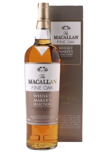 The Macallan Fine Oak Whisky Makers Selection 700 ml