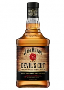 Jim Beam Devils Cut Whisky 1 Litro