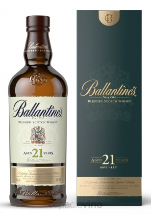 Ballantines 21 Años Whisky 750 ml