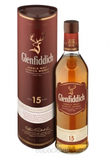 Glenfiddich 15 Años Whisky 750 ml
