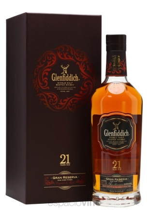 Glenfiddich 21 Años Rum Cask Finish Whisky 750 ml