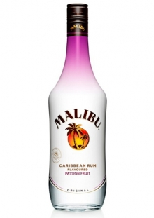 Malibu Passion Fruit Ron 1 Litro