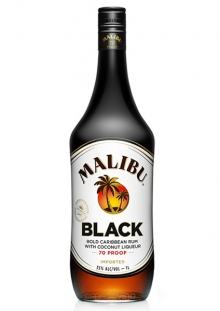 Malibu Black Ron 1 Litro