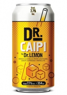 Dr Caipi Cooler Lata 354 ml