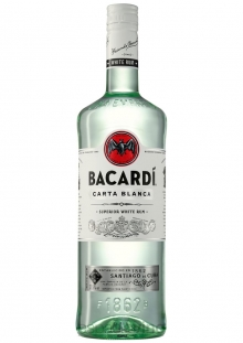 Bacardi Carta Blanca Ron 750 ml