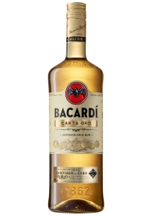 Bacardi Carta Oro Ron 750 ml