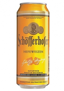 Schofferhofer Cerveza Lata 500 ml