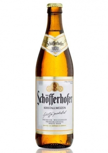Schofferhofer Kristall Cerveza 500 ml