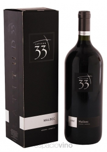 Estuche Latitud 33 Malbec 1500 ml