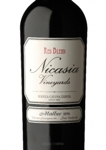 Nicasia Vineyards Red Blend Malbec 500 ml