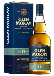 Glen Moray Heritage 12 años Whisky 700 ml