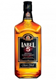 Label 5 Classic Black Whisky 700 ml