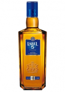 Label 5 Extra Rare 18 Años Whisky 750 ml