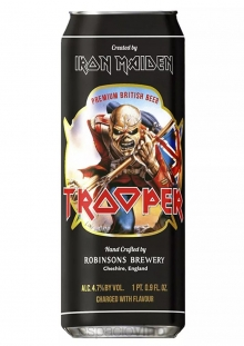 Trooper Iron Maiden Cerveza Lata 500 ml