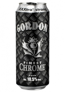 Gordon Finest Chrome Cerveza Lata 500 ml