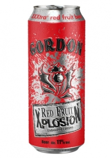 Gordon Xplosion Red Fruit Cerveza Lata 500 ml