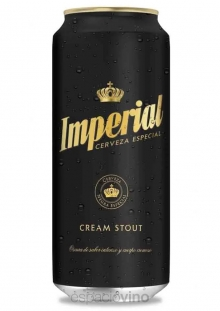 Imperial Cream Stout Cerveza Lata 473 ml