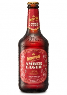 Imperial Amber Lager Cerveza 500 ml