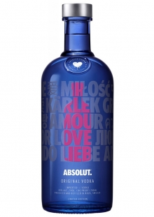 Absolut Drop of Love Vodka 750 ml