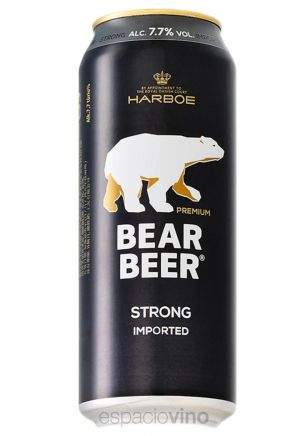 Bear Beer Strong Lager Cerveza Lata 500 ml