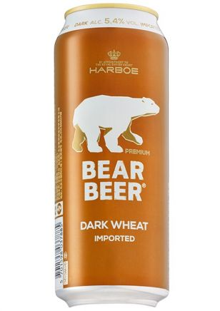 Bear Beer Dark Wheat Cerveza Lata 500 ml